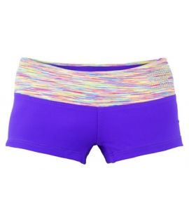 Supplex Shorts with Contrast Band (Kids)-Congo/Fruit Loops-C2