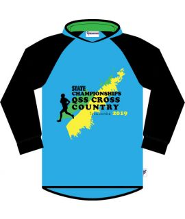Queensland School Cross Country - Souvenir Hooded Tee 2019