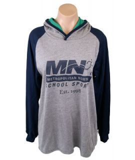 Met North School Sport - Supporter Hooded Tee
