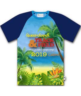Queensland School Athletics - Souvenir Tee