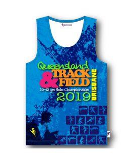 Queensland School Track & Field - Souvenir Singlet