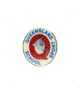 Queensland School Sport - Badge