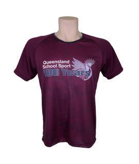 Queensland School Sport - Anniversary Tee