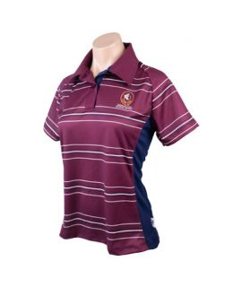 Queensland School Sport - Official Polo (Ladies)