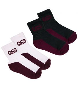 Queensland School Sport - Quarter Socks