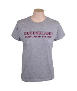 Queensland School Sport - Training Tee (Kids)
