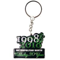 Met North School Sport - Supporter Anniversary Key Ring